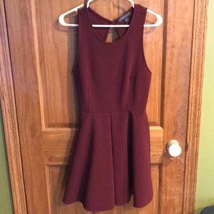 Kendall & Kylie maroon dress-NWOT